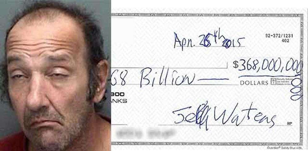 $368 Billion Cheque