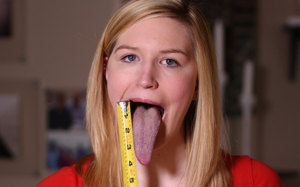 Adrianne Lewis Giant Tongue