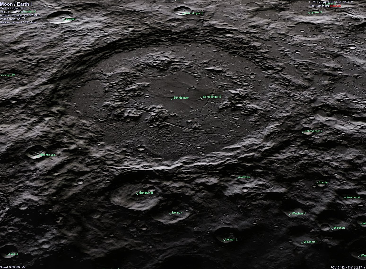 Alien Life China India - Chang e 2 High Res Moon Surface