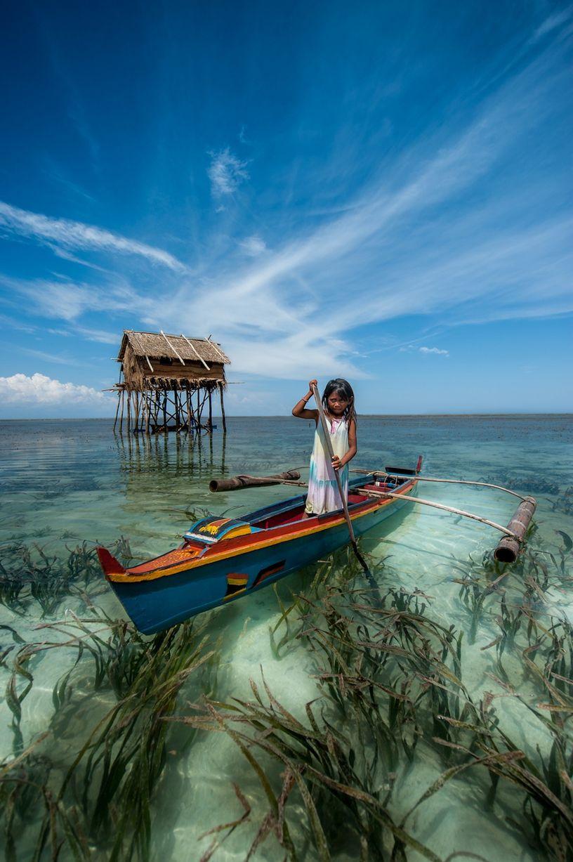Bajau people of Malaysia - Bajau Little Girl]