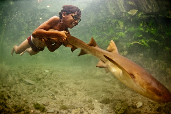 Bajau people of Malaysia - Enal Pet Shark