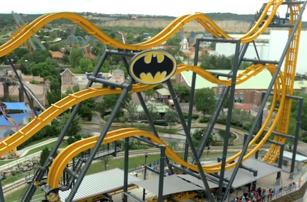Batman 4D Coaster