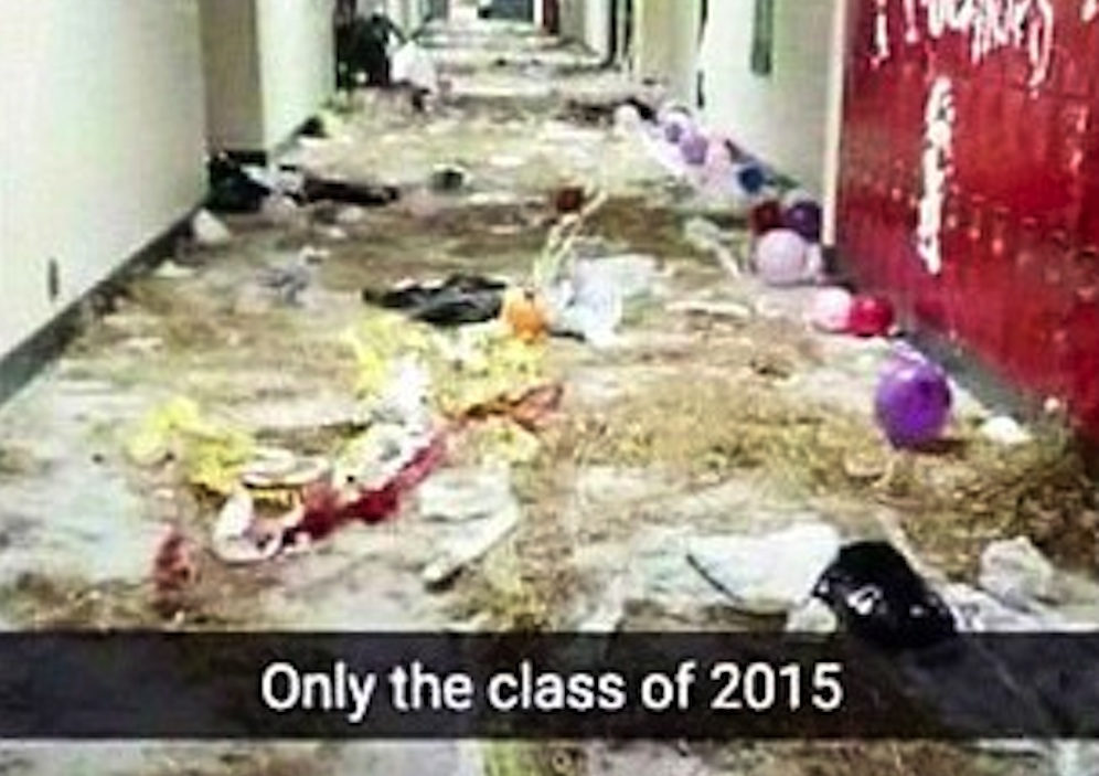 Class Of 2015 High School Prank