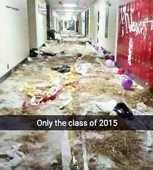 Class Of 2015 Prank 5