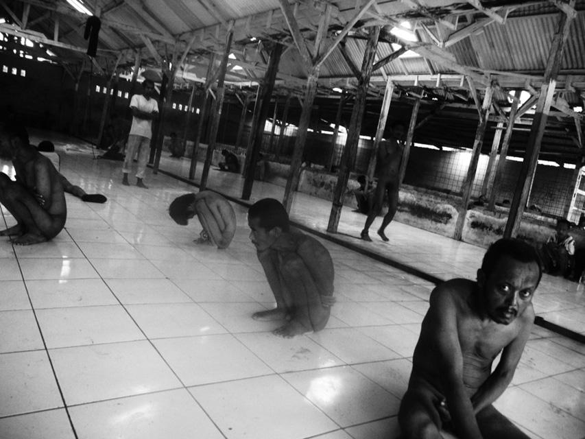 Dimitri Pilalis -Indonesia Institution - Shower 2