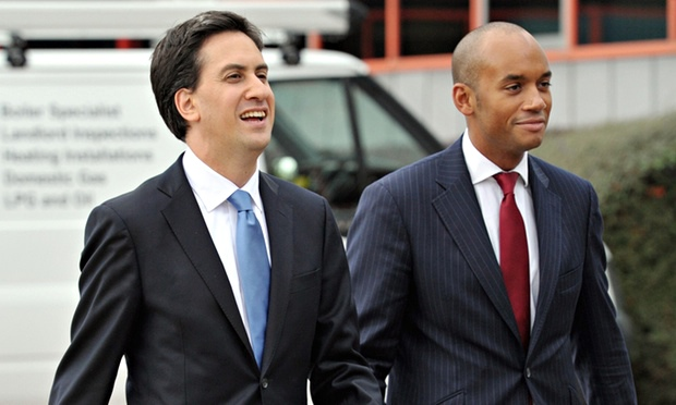 Ed Miliband and Chuka Umunna