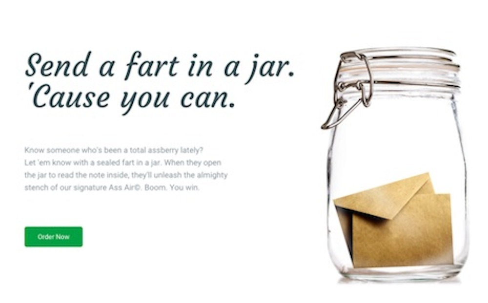 Fart In A Jar