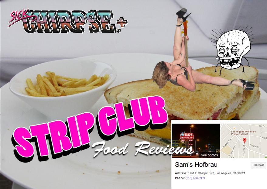 Consider, Strip club food review
