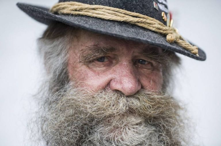 Hungary Beard Festival - Gari Schmidbauer of Germany