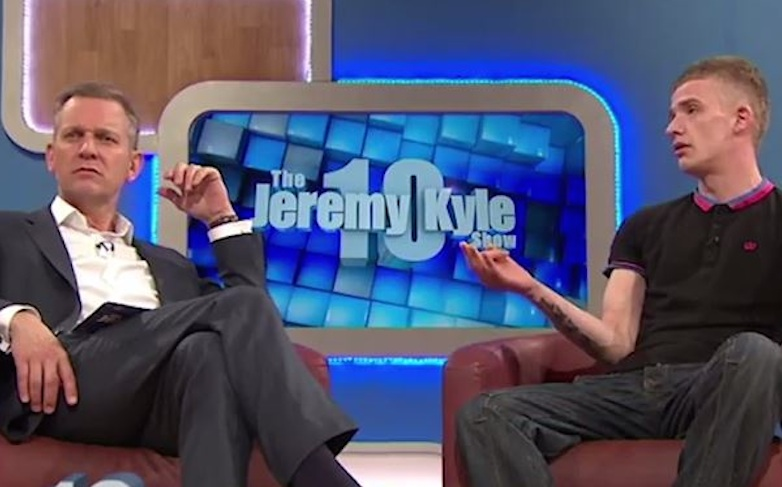 JEremy Kyle Tells Off Audience