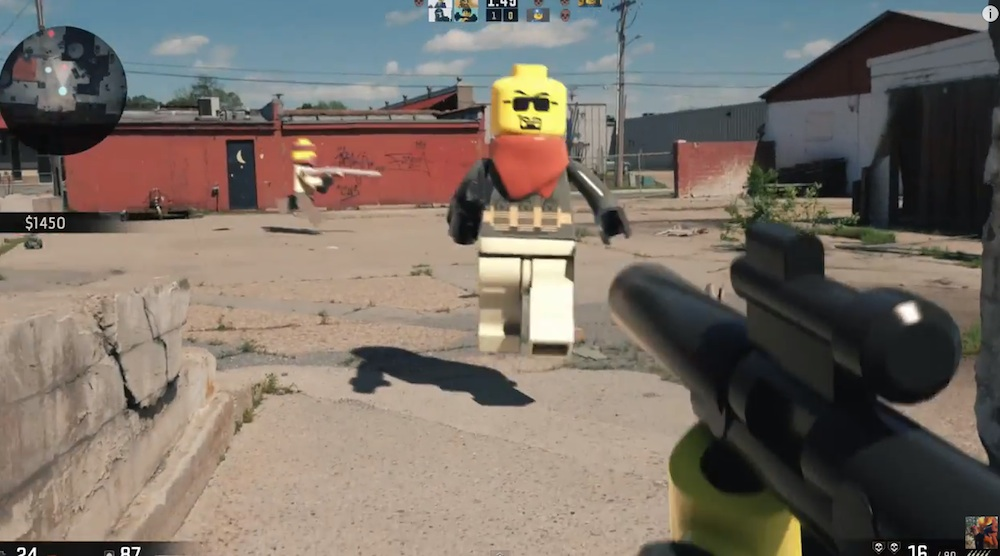 Someone Has Created A LEGO First Person Shooter Game And It Looks ...