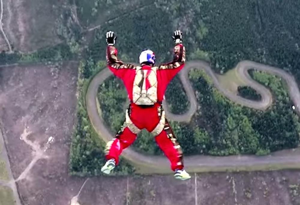 Luke Atkins No Parachute Jump