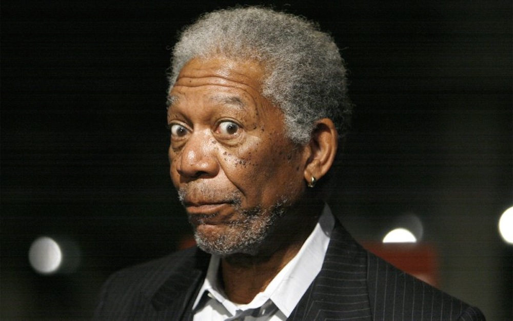 Morgan Freeman Legalise Weed