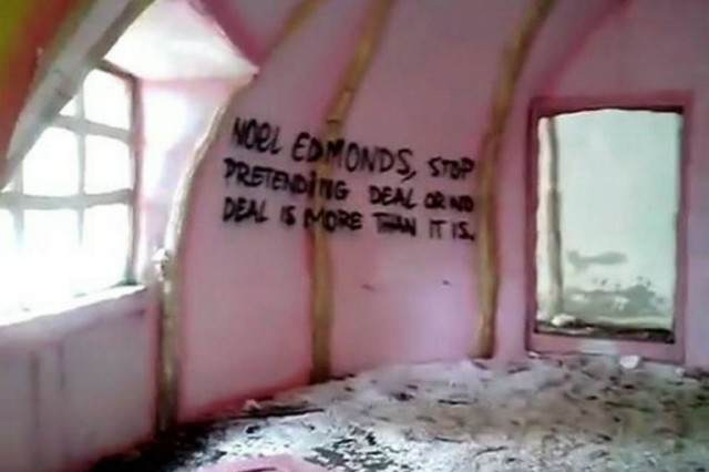 Mr Blobby's Abandoned House