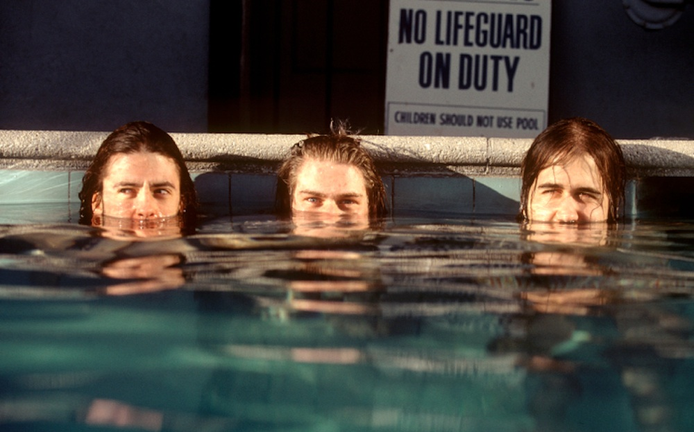 Nirvana Nevermind Pool Photoshoot