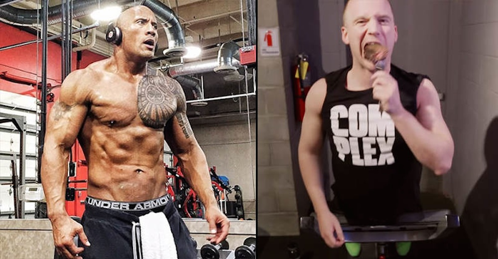 Normal Man Attempts The Rock's DIet Plan
