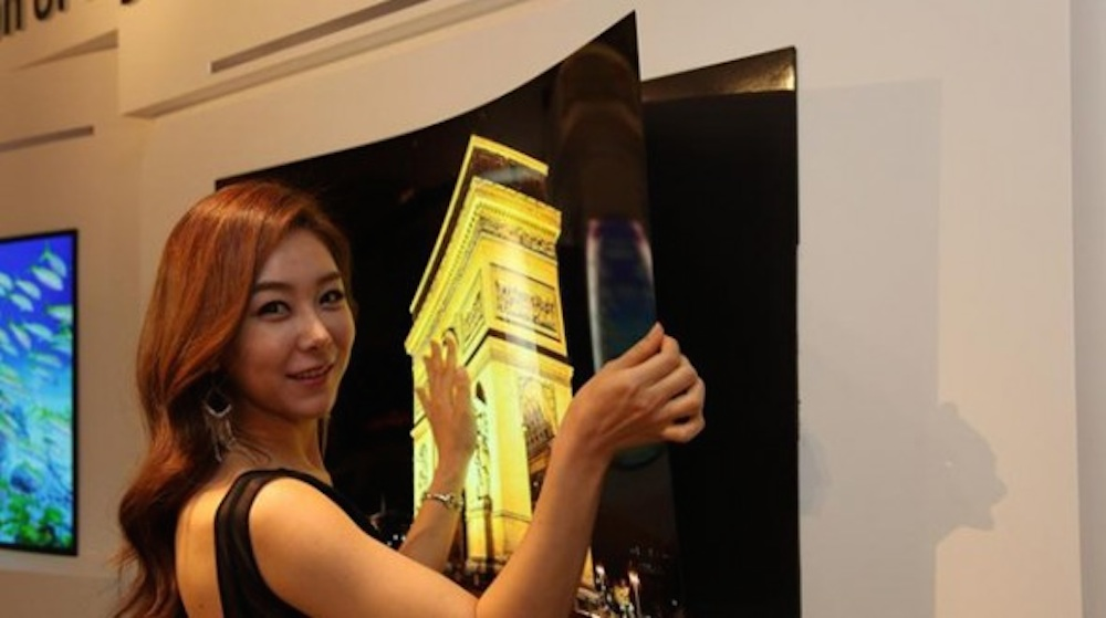 OLED Flatscreen Television