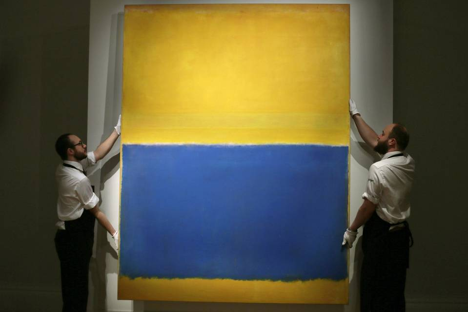 Blue Painting Sold For Millions