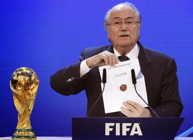 Sepp Blatter Russia