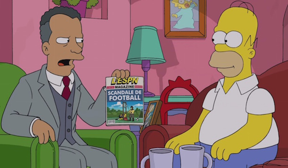 The Simpsons Predict FIFA Corruption