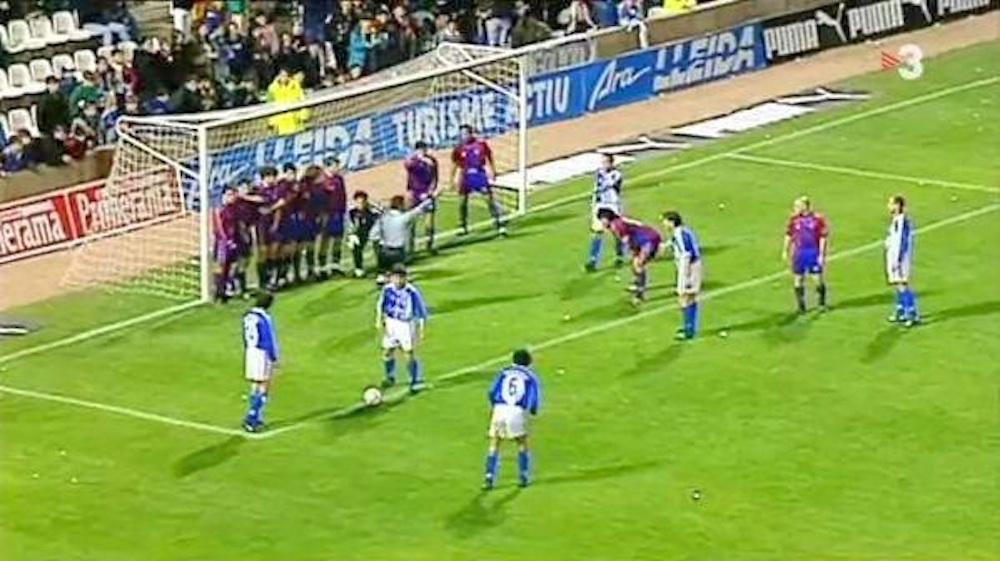 Tito Villanova Free Kick