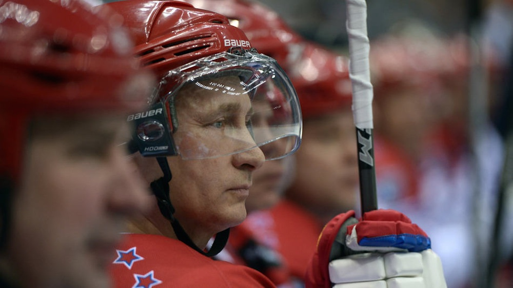 Vladimir Putin Hockey Match