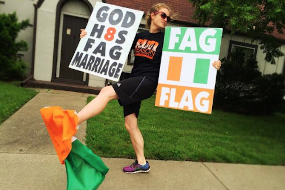 Westboro Baptist Church Wrong Flag