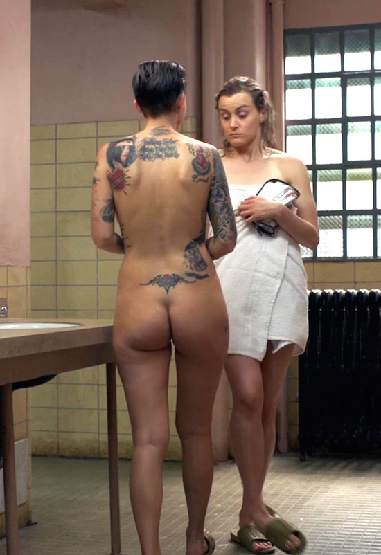 Pity, Orange is the new black naked in shower
