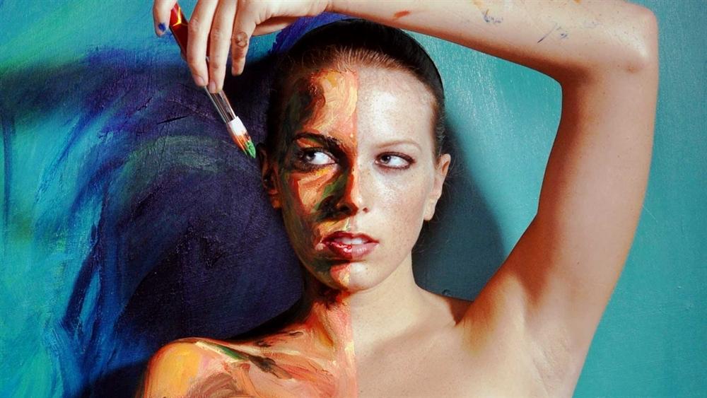 Alexa Meade - Portrait