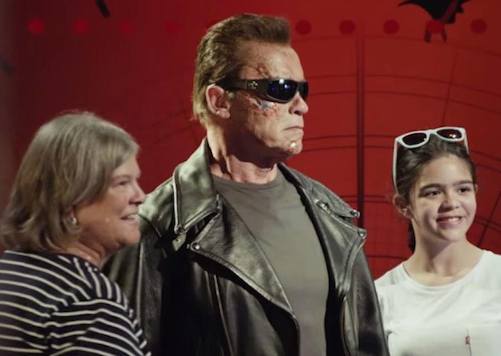 Arnold Schwarzenegger Wax Statue
