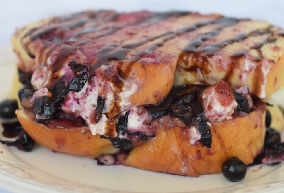 Blueberry And Balsamic Grilled Cheese
