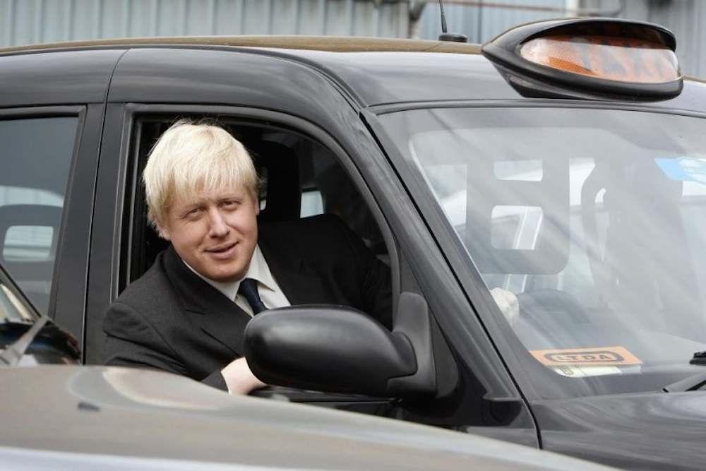 Boris Johnson Taxi