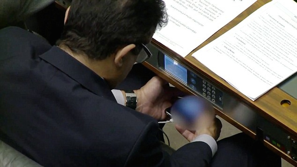 Brazilian MP Caught Watching Porn