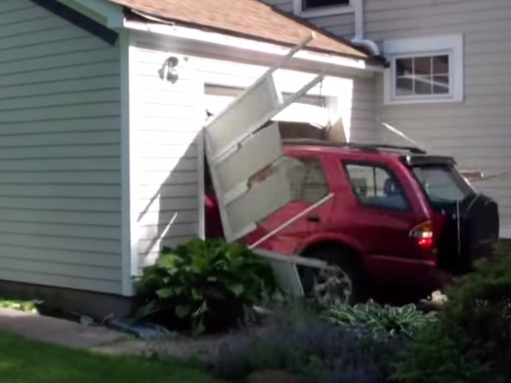 Bucket List Garage Door Smash