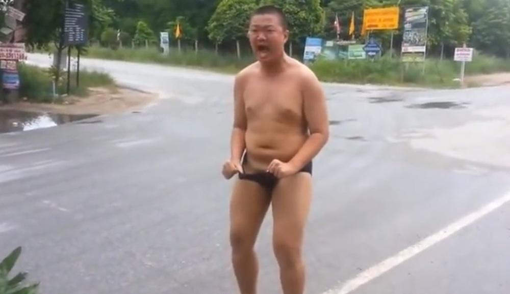 Fire Ants Crazy Thai Guy Pants