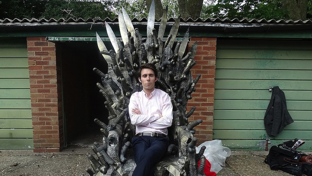 Game Of Thrones Dildo Throne