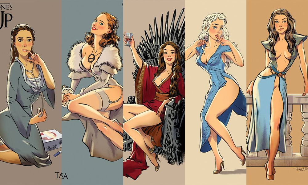 Game Of Thrones Pin Up Posters Featured
