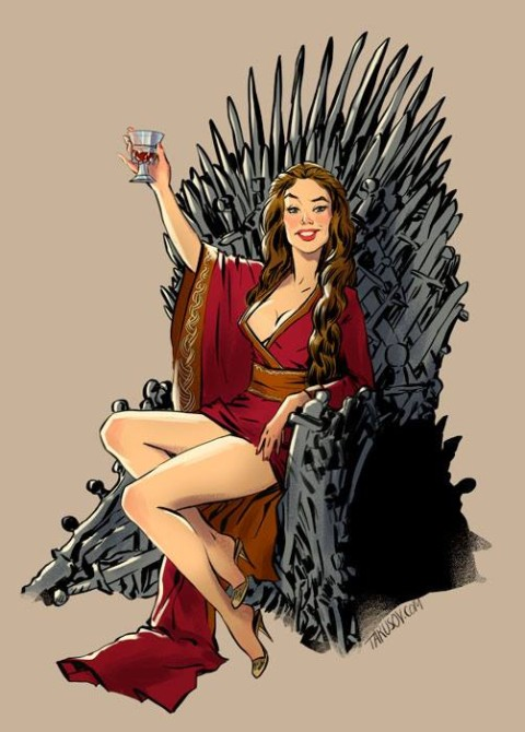 Game Of Thrones Pinups 1