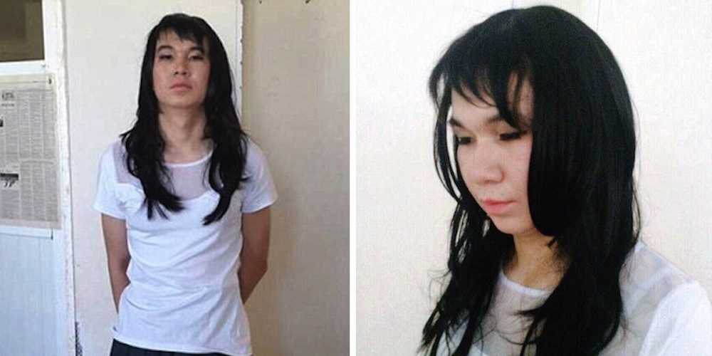 Guy Dresses Like Girlfriend Take Exam