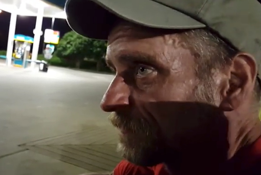 Homeless Guy Talks About Society
