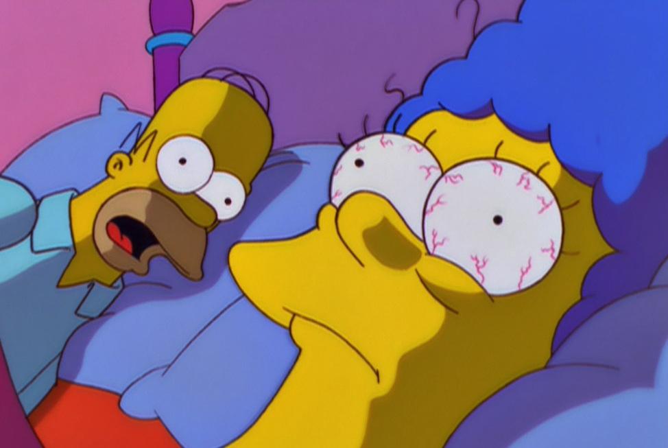 Homer Marge Split Up