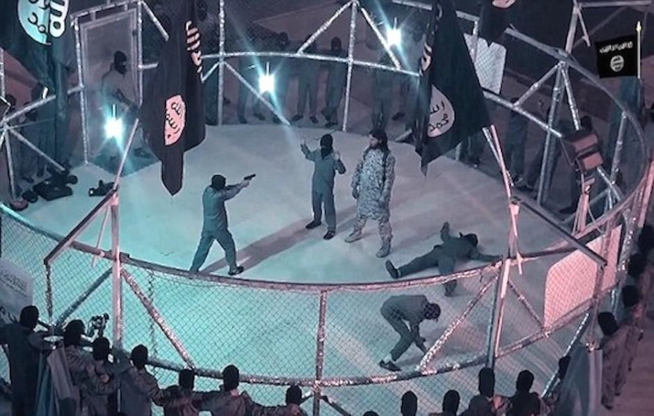 ISIS käyttää MMA-häkkiä