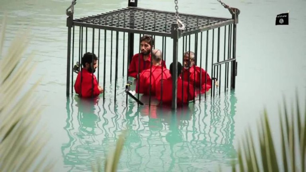 ISIS Drowning Video