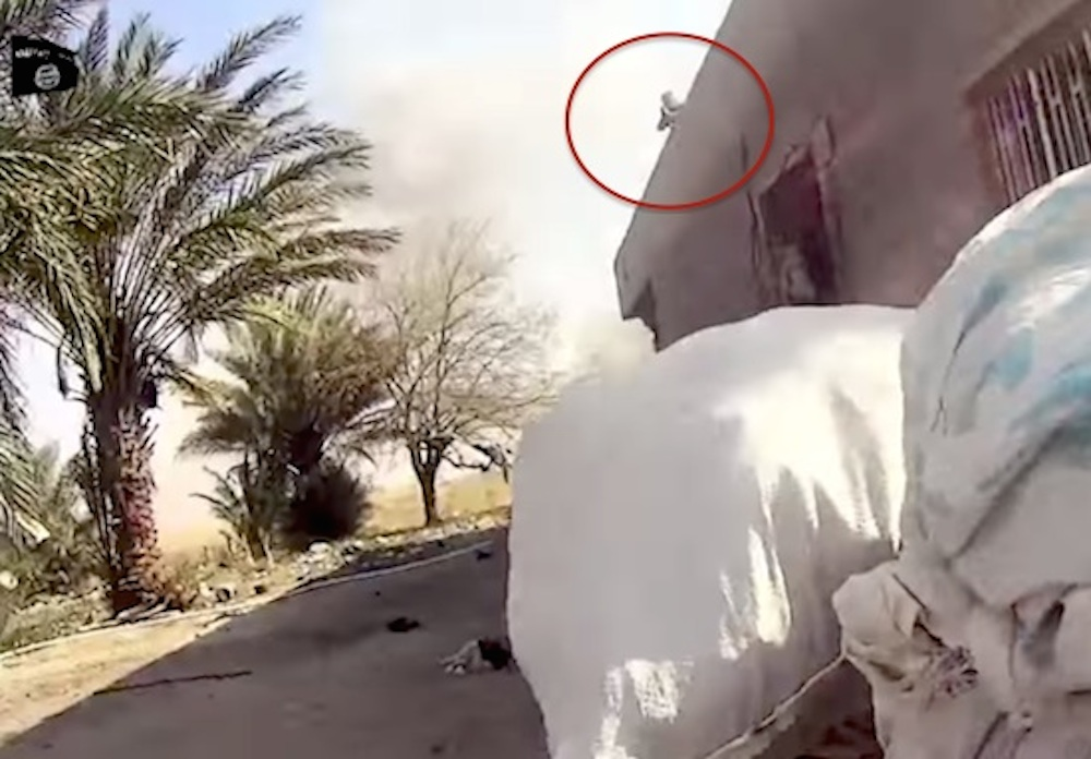 ISIS Militant Captures Own Death Helmet Cam