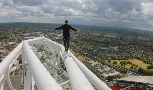 James Kingston Wembley Arches