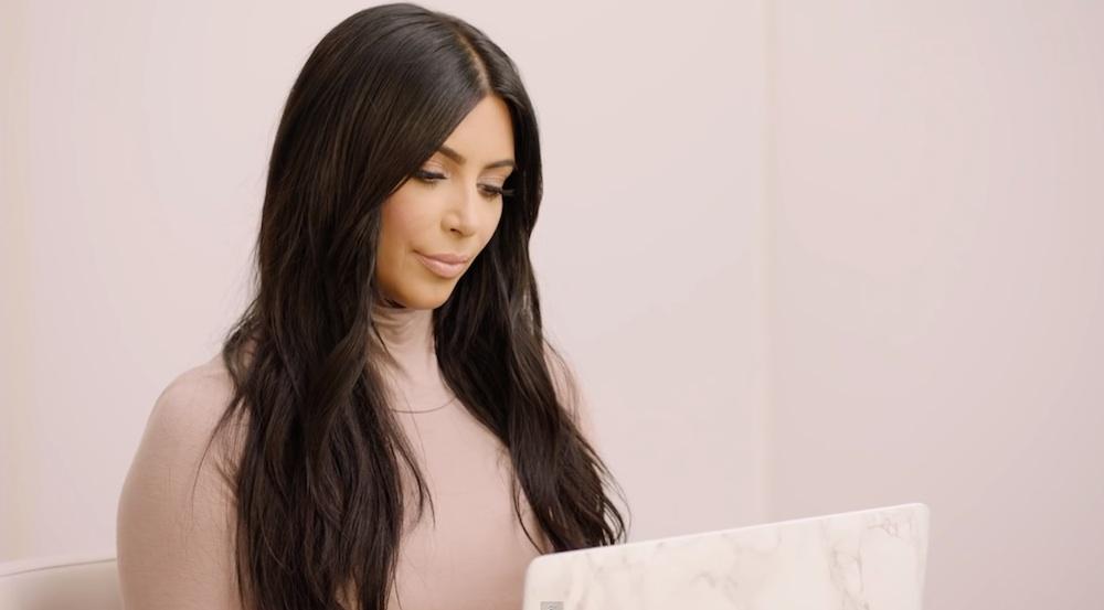 Kim Kardashian Letter To Self