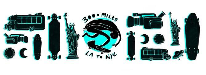 LA To NY Logo