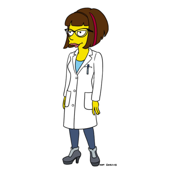 Lena Dunham Simpsons