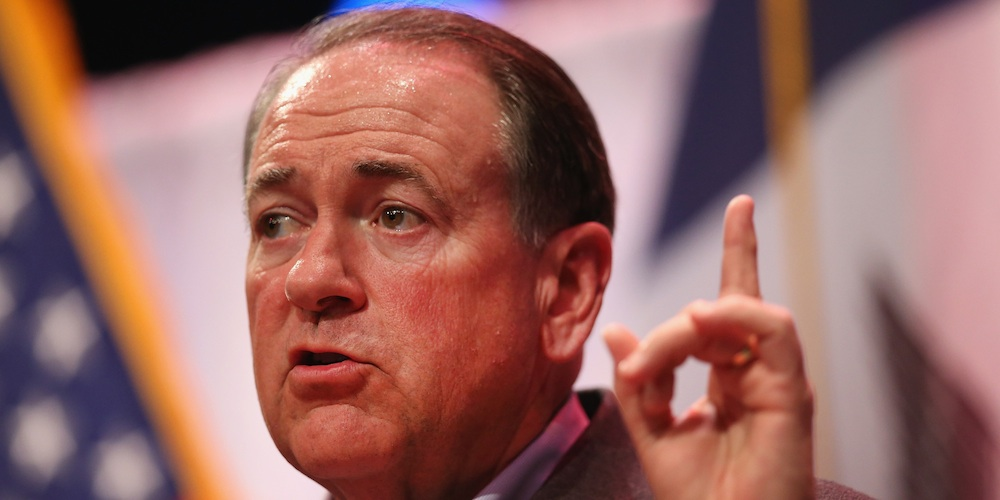 Mike Huckabee Transgender Speech