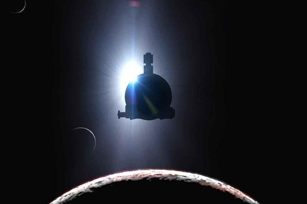 New Hoirizons Pluto